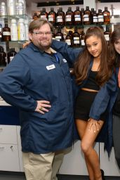 Ariana Grande - Firmenich Fragrance House in New York City, March 2015