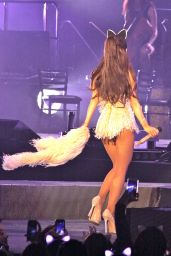 Ariana Grande Performing and Falling in Toronto, March 2015