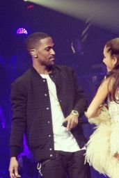 Ariana Grande Performs at Honeymoon Tour in Detroit