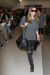 Ashley Greene at LAX Airport, March 2015