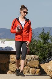 Ashley Greene - Hiking Mulholland Trail in Los Angeles, March 2015