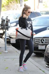 Ashley Tisdale at a Gym in West Hollywood, March 2015