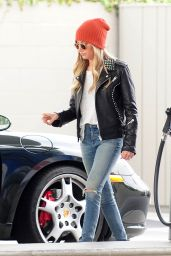 Ashley Tisdale Booty in Jeans - Gets Gas in Toluca Lake, March 2015