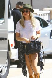 Ashley Tisdale Street Style - Out in West Hollywood, March 2015