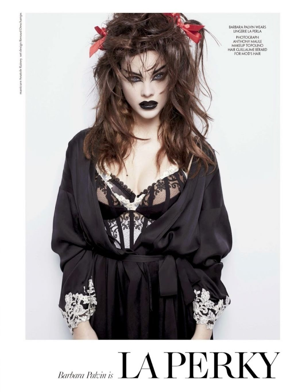 Barbara Palvin – CR Fashion Book #6 2015
