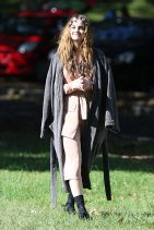 Barbara Palvin - On the Set of a Photoshoot in Sydney - March 2015