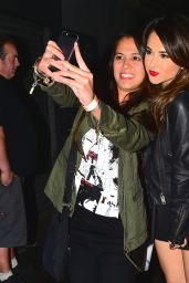 Becky G - Leaving the Troubadour in West Hollywood, March 2015