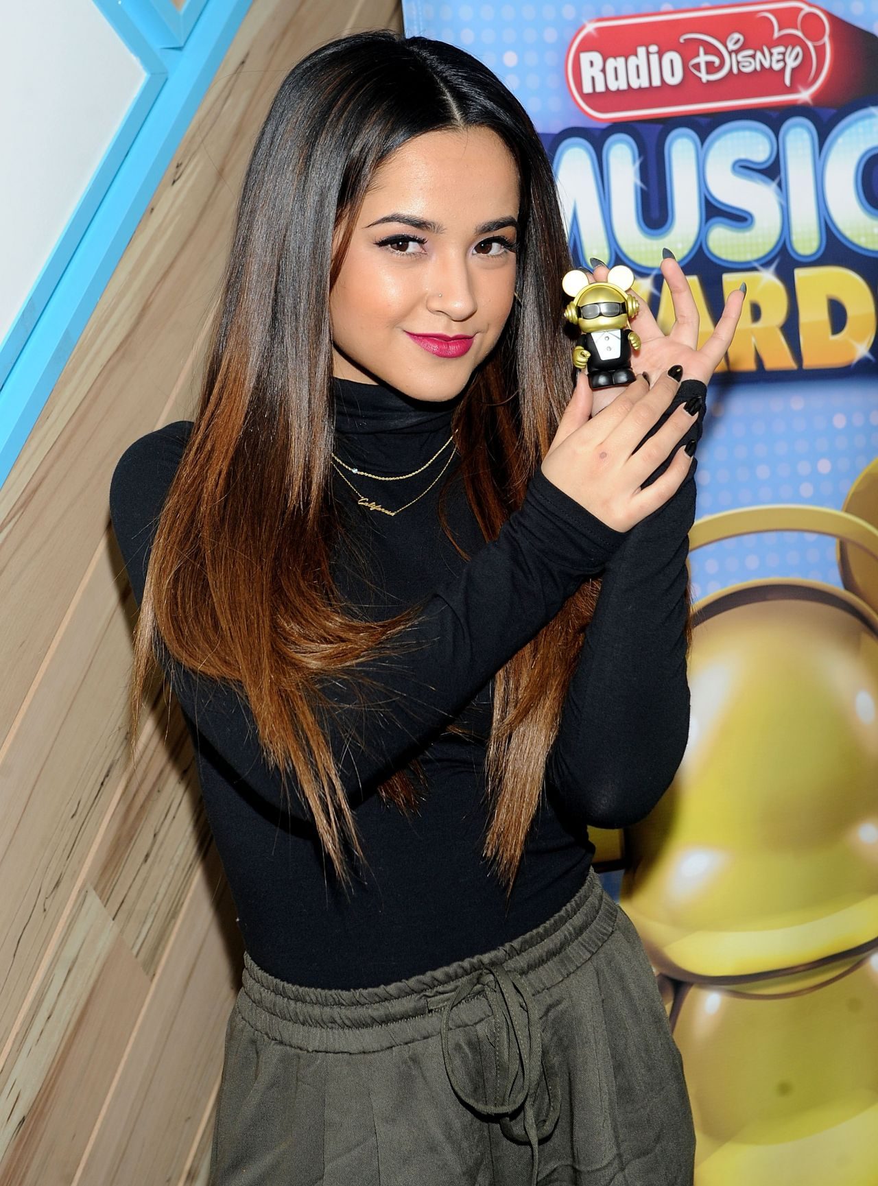 Becky G – On The Road To The RDMA Concert in New York City
