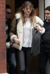 Behati Prinsloo - Out in NYC, March 2015