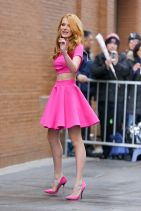 Bella Thorne Arrives at ABC Studios in New York City, March 2015