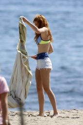 Bella Thorne in a Bikini in Malibu - March 2015