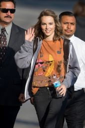 Bridgit Mendler Arriving to Appear on