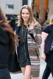 Bridgit Mendler Casual Style - Out in New York City, March 2015