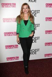Britt Robertson - The Longest Ride Fan Screening in New York City