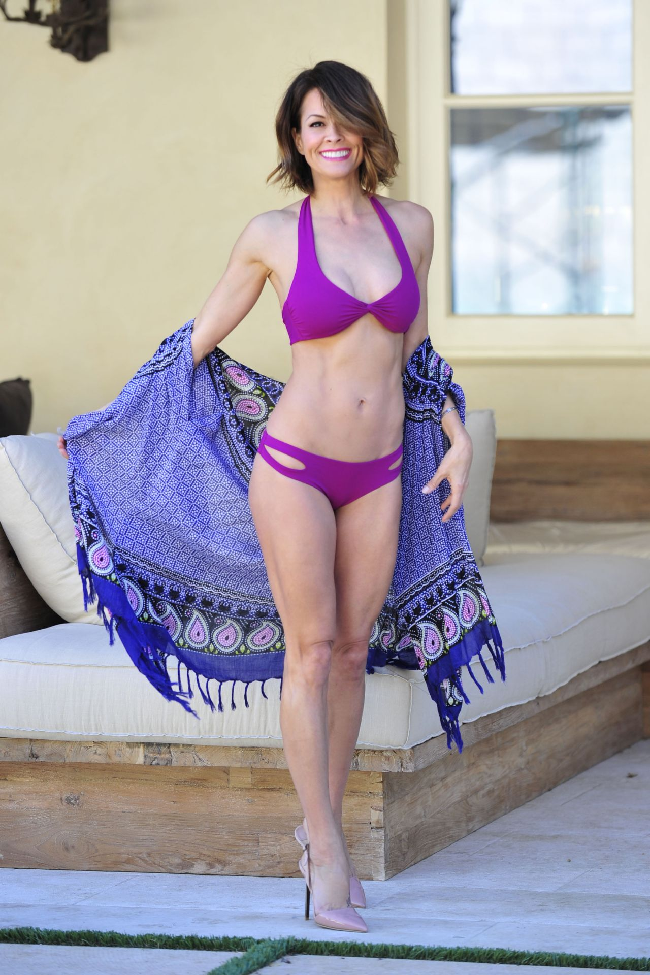 Brooke Burke - Photoshoot in Malibu, March 2015