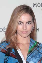 Camilla Belle – Moet & Chandon Toasts Roger Federer's 1,000th Career Win in Beverly Hills