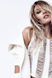 Candice Swanepoel - Photoshoot for Osmoze - Winter 2015