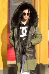 Cara Delevingne Casual Style - Out in New York City, March 2015