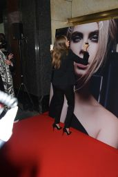 Cara Delevingne Fashion - YSL Beauty Presentation in Paris, March 2015