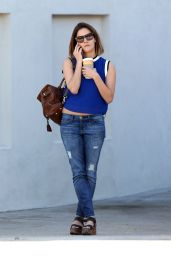 Caroline Flack - Out in Beverly Hills, March 2015