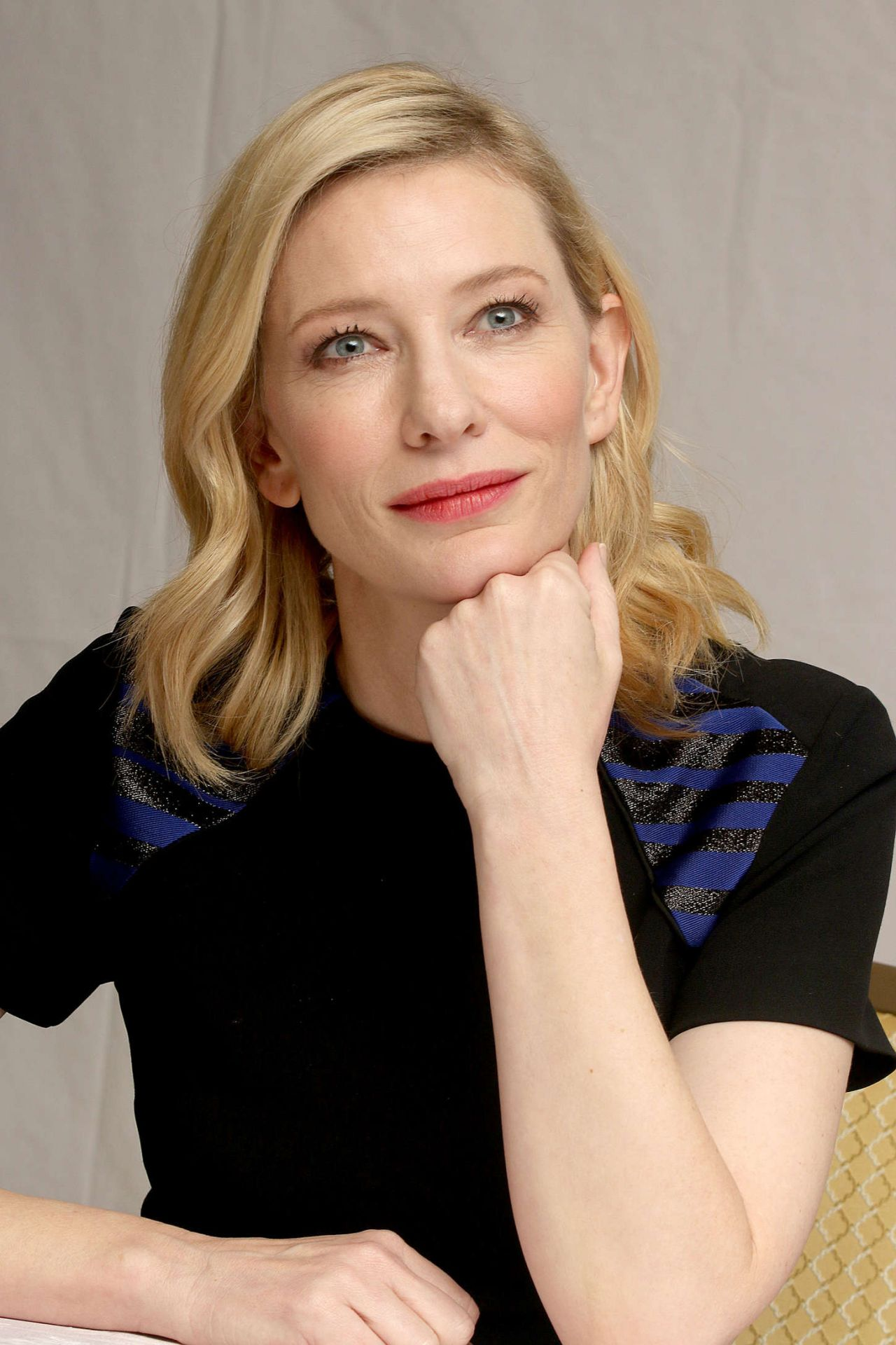 Cate Blanchett Cinderella Press Conference In Beverly