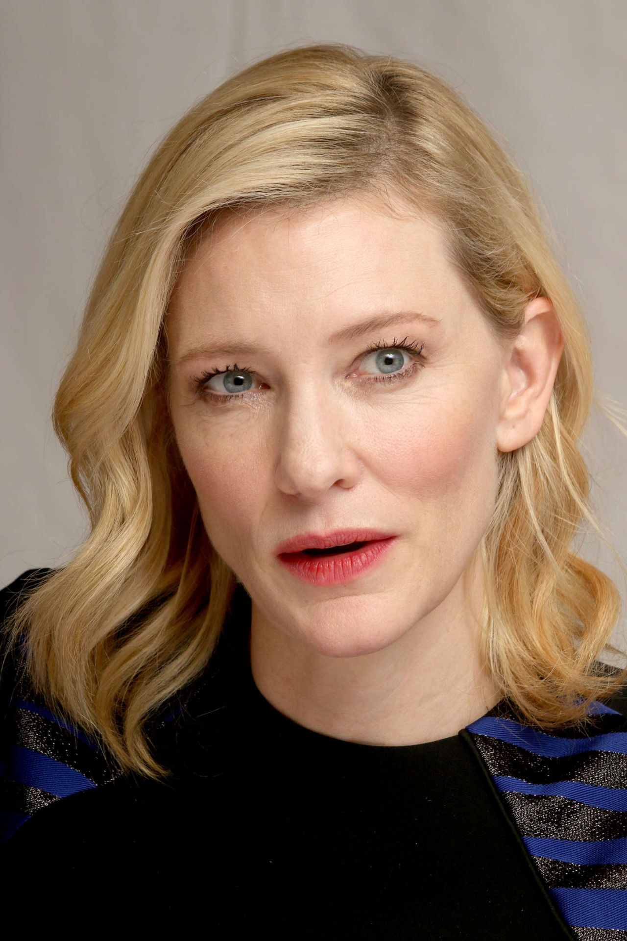 Cate Blanchett - 'Cinderella' Press Conference in Beverly ... Cate Blanchett
