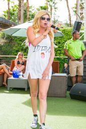 Chanel West Coast in a Bikini - REHAB Pool Party at the Hard Rock Hotel in Las Vegas