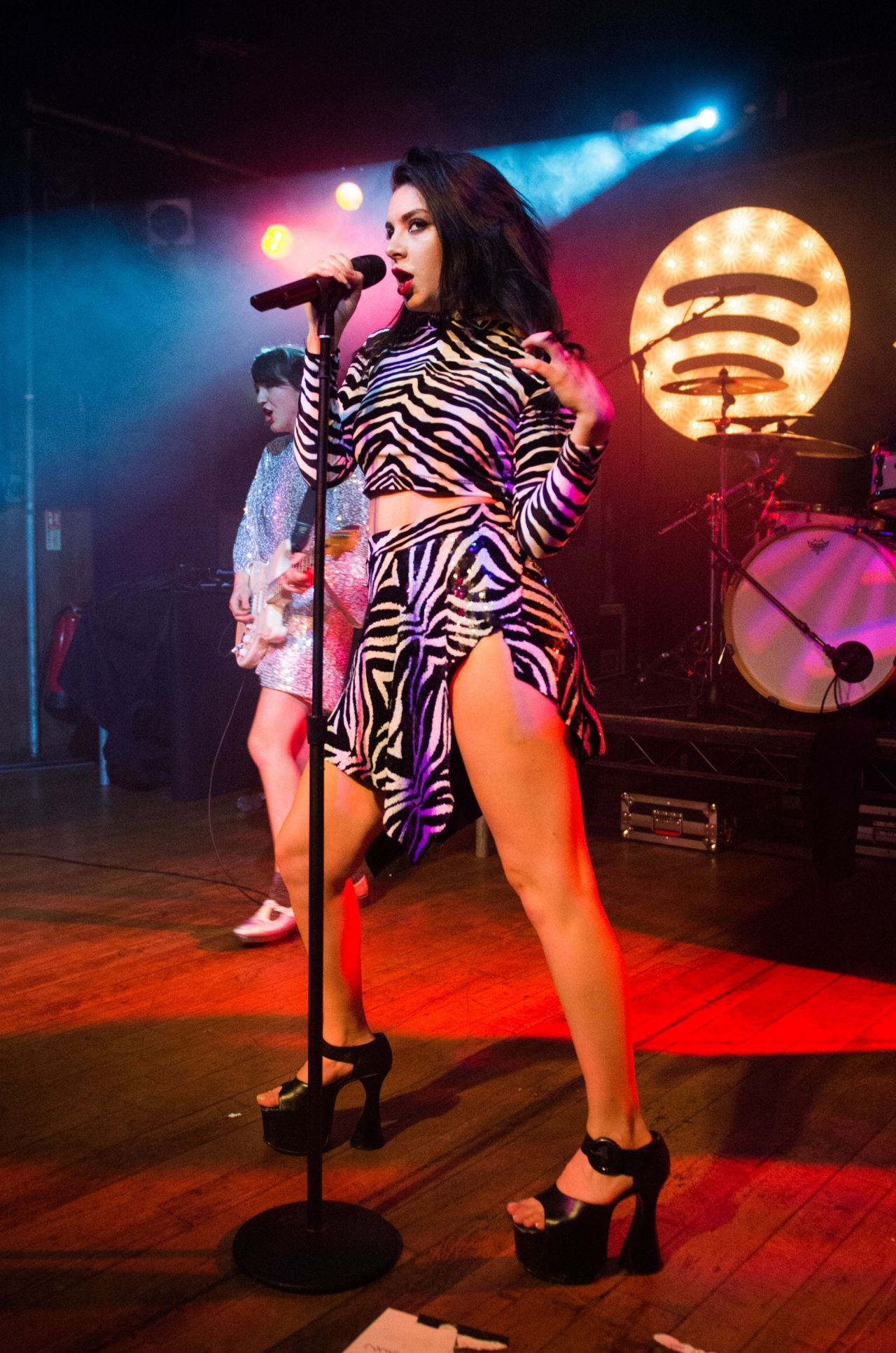 Charli XCX - Spotify Opening Gig in London - March 2015