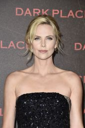 Charlize Theron - Dark Places Premiere in Paris
