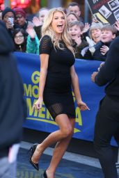 Charlotte McKinney - Arriving to Appear on Good Morning America in NYC, March 2015