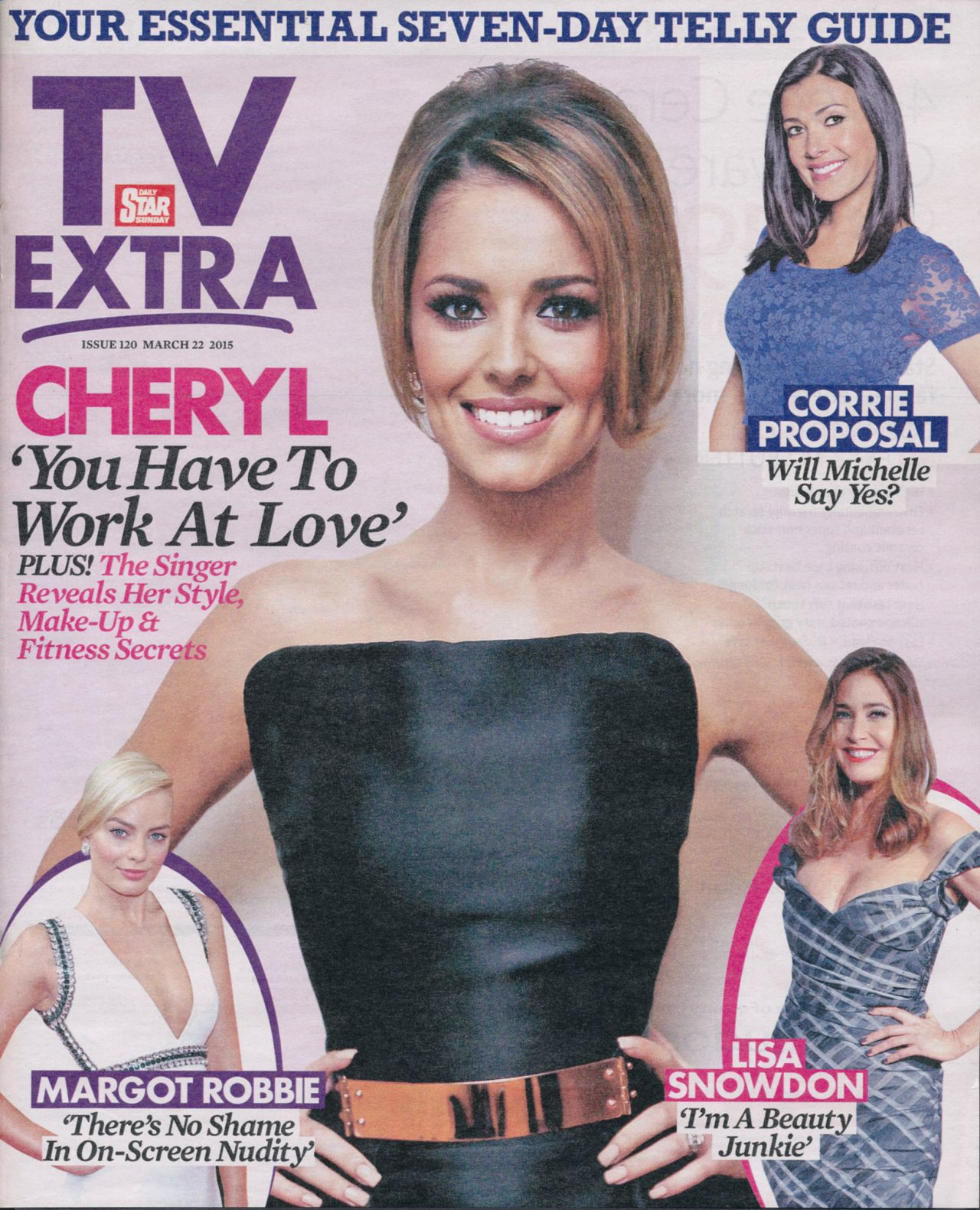 Cheryl Fernandez-Versini - TV Extra Magazine March 22nd 2015