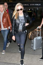 Chloe Moretz at LAX Airport in Los Angeles, March 2015