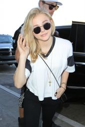 Chloe Moretz - LAX Airport in Los Angeles, March 2015