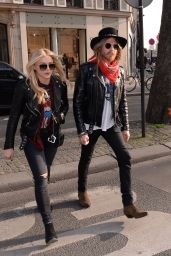 Chloe Moretz Street Style - Out in Paris, March 2015