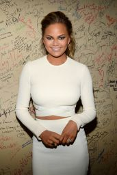 Chrissy Teigen - Visiting Good Day New York on Fox 5 in NYC, March 2015