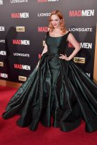 Christina Hendricks - AMC celebration of Mad Men with The Black & Red Ball in Los Angeles