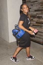 Christina Milian at the Spagattini Italian Restaurant in Beverly Hills - March 2015