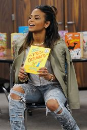 Christina Milian in RIpped Jeans -
