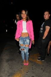 Christina Milian Nigh Out Style - Penthouse Nightclub in West Hollywood - March 2015