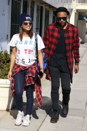 Christina Milian Street Style - Hollywood, March 2015