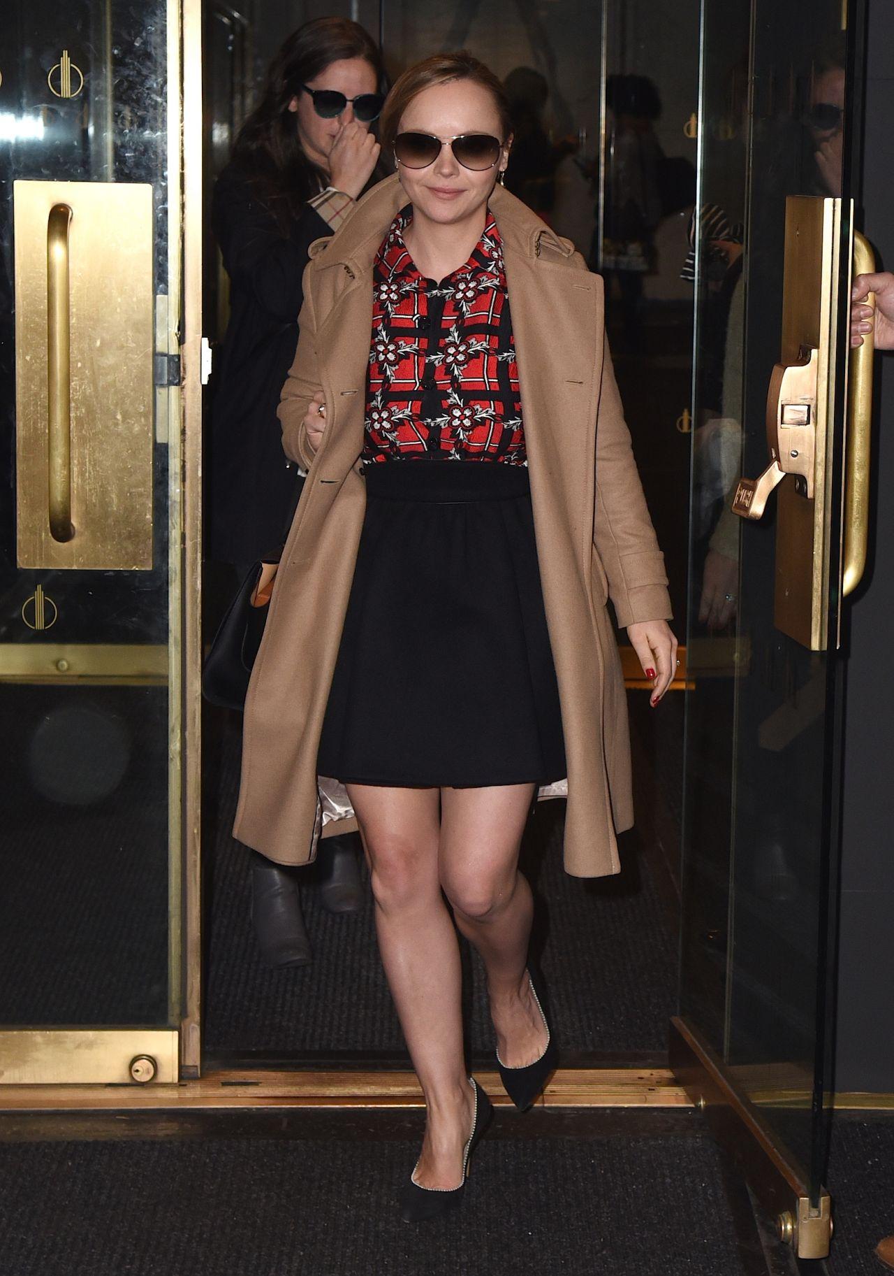 Christina Ricci - 2015 Celebrity Photos - Style Leaving ...