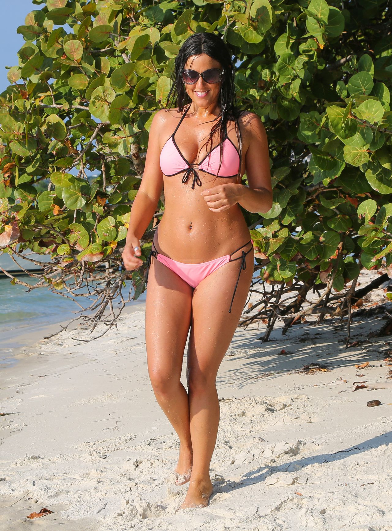 Claudia Romani in a Bikini in Miami - March 2015