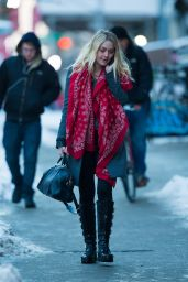 Dakota Fanning - Out in New York City, March 2015