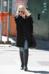 Dakota Fanning - Out in NYC, March 2015
