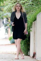 Dakota Fanning - Out in Studio City - March 2015