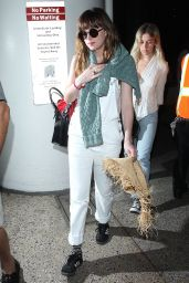 Dakota Johnson at LAX Airport, March 2015