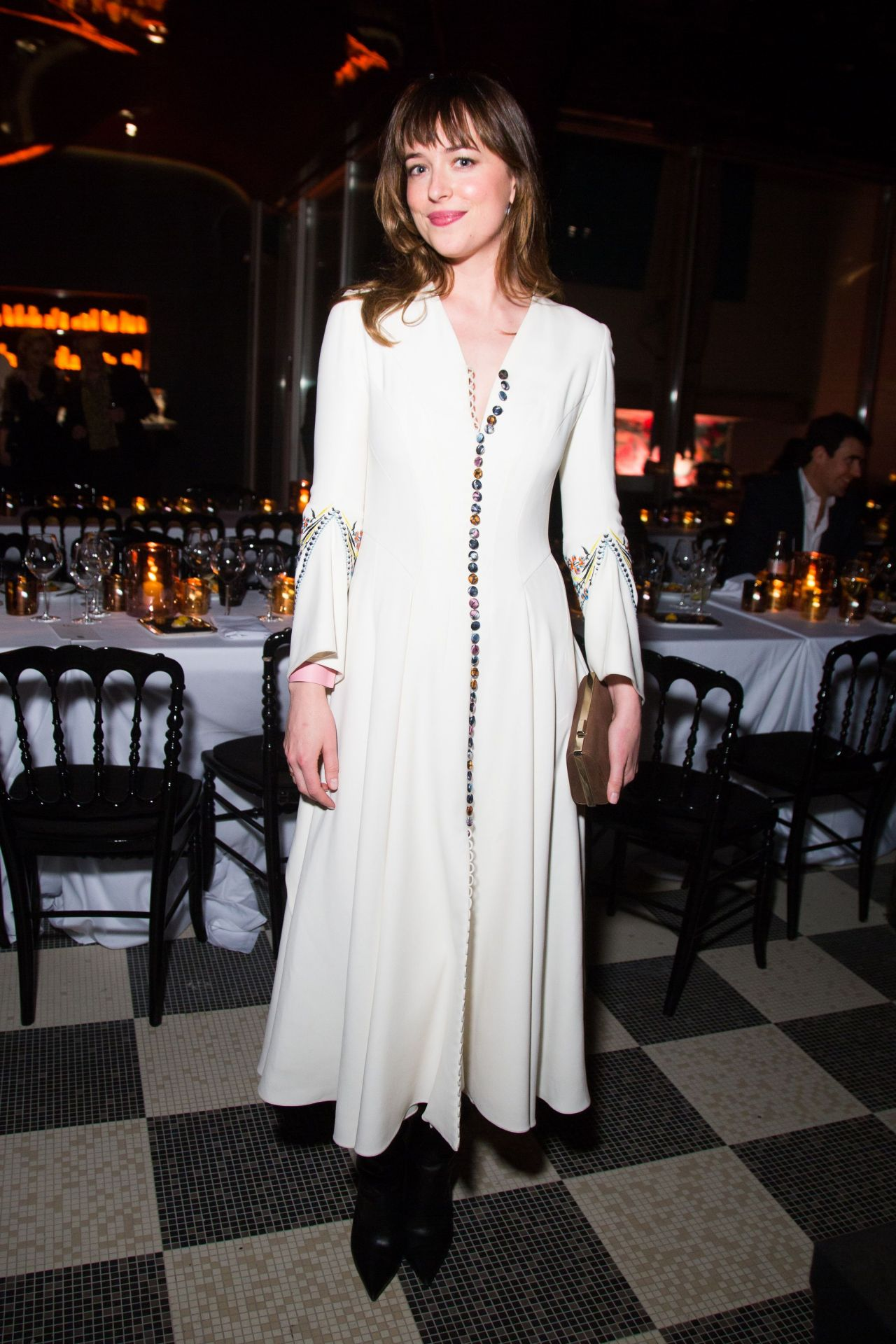 Dakota Johnson - Christian Dior Private Dinner in Paris, March 2015