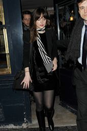 Dakota Johnson Fashion - Out in Paris, March 2015