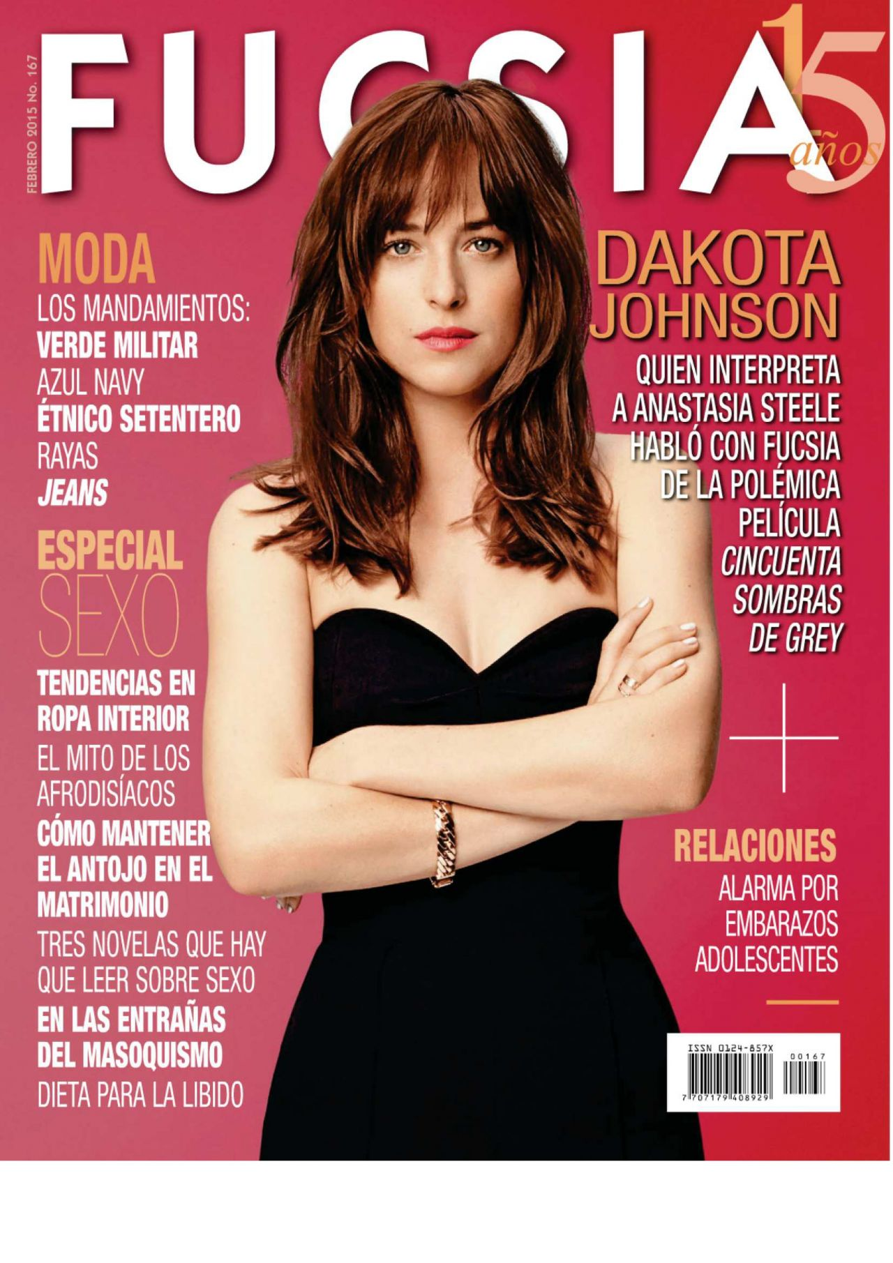 Dakota Johnson - Fucsia Magazine February 2015 Issue