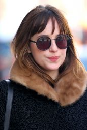 Dakota Johnson Street Style - Out in New York City, March 2015